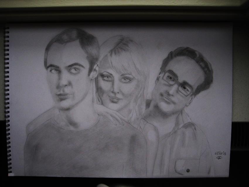 Kaley Cuoco, Johnny Galecki, Jim Parsons par Phoebe19